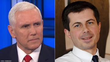 Mike Pence and Pete Buttigieg