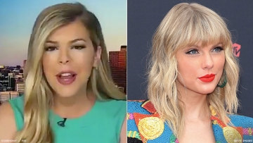Allie Beth Stuckey and Taylor Swift