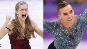Kaitlyn Weaver and Adam Rippon