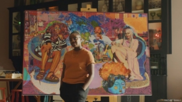 Black Nonbinary Artist Amani Lewis Paints Path to Black Business