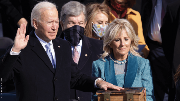 Biden takes oath of office