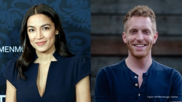 Alexandria Ocasio Cortez and Alex Morse