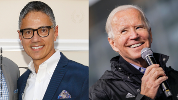 Carlos Elizondo and Joe Biden