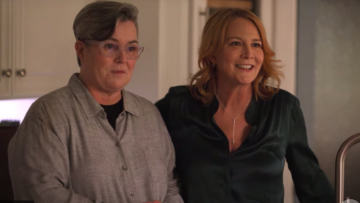 Laurel Holloman and Rosie O'Donnell