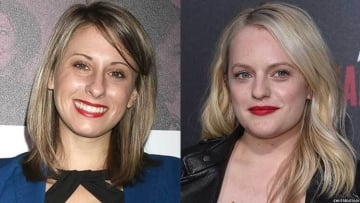 Katie Hill and Elisabeth Moss