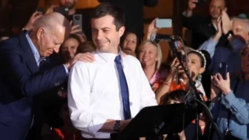 Biden and Buttigieg