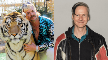 John Cameron Mitchell and Joe Exotic