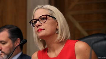 Will Kysten Sinema side with Donald Trump on impeachment?