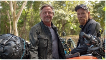 Ewan McGregor and Charley Boorman meet with indigenous trans community in Mexico. Their new 11-part series Long Way Up chronicles the duo's epic 13,000 mile journey from Patagonia to Los Angeles on electric Harley-Davidsons.