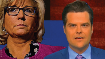Liz Cheney and Matt Gaetz