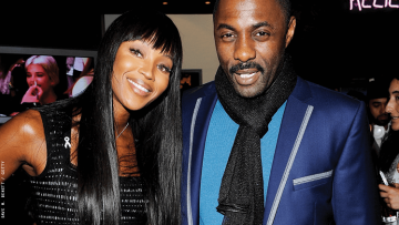 Idris Elba and Naomi Campbell