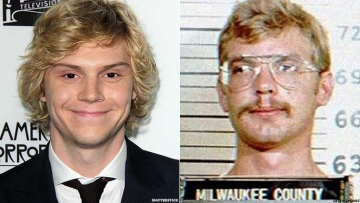 Evan Peters and Jeffrey Dahmer