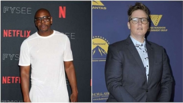 Dave Chappelle and Hannah Gadsby