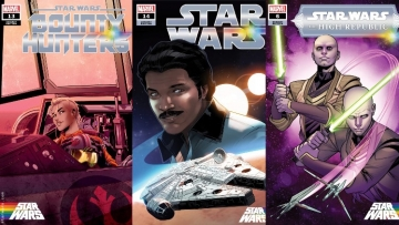 Star Wars Comic Covers