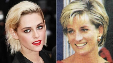 Kristen Stewart and Princess Diana