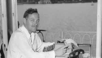 Tennessee Williams in Germany 1950 Getty Images
