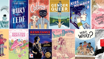 Top Graphic novels of 2019 cover images