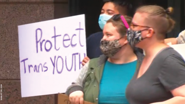 Texas protesters