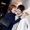 Actress Frances Fisher (left) and songwriter Diane Warren