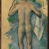 Paul Cézanne, Standing Bather Seen From Behind, 1879