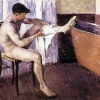 Gustave Caillebotte, Man Drying His Leg, 1884