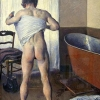 Gustave Caillebotte, At His Bath, 1884