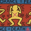 Keith Haring for ACT UP