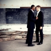 In an all-male school, there are all kinds of romances. But you don't talk about it.