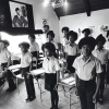 Black Panther children in a classroom at the Intercommunal Youth Institute