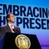 New York Gov. Andrew Cuomo speaks during a World AIDS Day event at the Apollo Theater in New York.