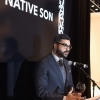 Eneuri Acosta speaks on stage during The inaugural Native Son Awards
