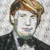 Donald Trump By Jason Mecier. Read about World of Wonder's exhibit below.