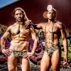 The NoRal Apparel Kush Brief & Sling. Photography: Digital Obsession. Models: Matt & Allante