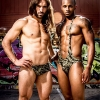 The NoRal Apparel Kush Sling & Brief. Photography: Digital Obsession. Models: Matt & Allante