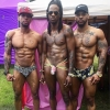 The NoRal Apparel On Fleek Brief, Ice Cream Jock, Boss Bitch Brief. Models: Johnnell, Jamari, Tyrone