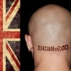 Union Jack on left = skinhead top. Union Jack on right = skinhead bottom.