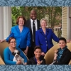Annise Parker and Family