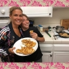 Cat Cora and One of Her Four Sons