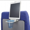 Frequent flyers love the Airhook, a stable drink holder and mount for an electronic device. ($20, TheAirHook.com)