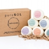 Rejuvenate with Be Pure Beauty Bath Bomb 6-Pack or their Charcoal Masque ($37 and up, BePureBeauty.com)