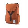 A modern twist on the flap backpack, the Topo Y-Pack fits a big laptop. ($79, TopDesigns.com)