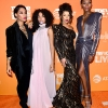 From left: Mj Rodriguez, Indya Moore, Hailie Sahar, and Dominique Jackson
