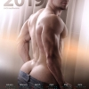 Nick Mesh's calendars make you want the year to never end. See link below for more.