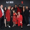 The cast of AJ and the Queen