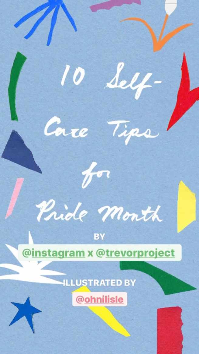 10 Self-Care Tips for LGBTQ+ Youth, Illustrated by Ohni Lisle