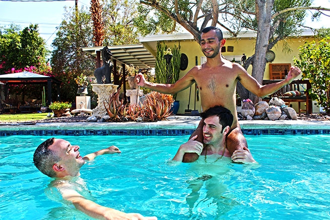Terry Hastings Palm Springs Pool Party