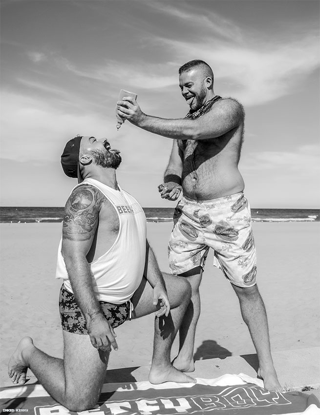 Delicious Body Positivity from inkedKenny and BEEFYBOY
