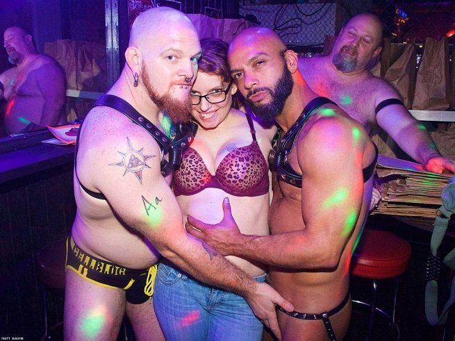 21. DON'T assume any leather bar is male-only. There are many women kinksters!