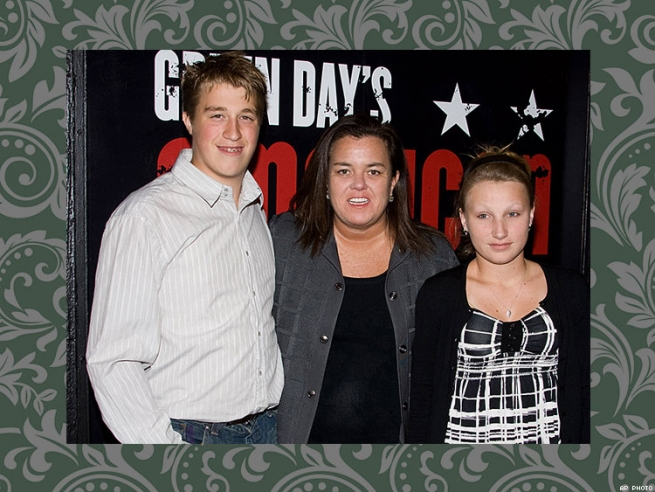 Rosie O'Donnell With Parker and Chelsea