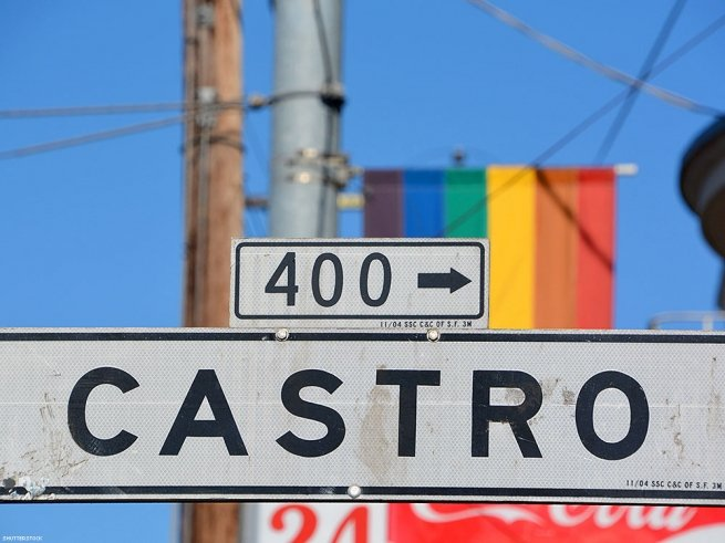 11. Your first trip to the Castro.